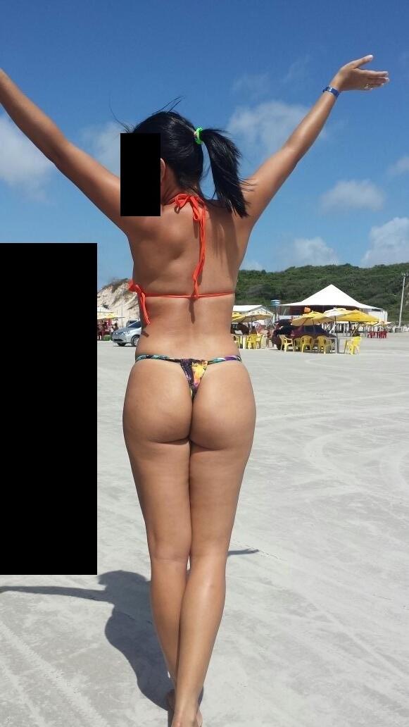 Fotos amadoras com esposa mostrando a buceta e o cu