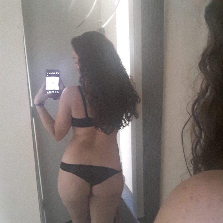 Mineirinha gostosa no espelho